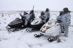 TAYGA PATRUL 551 SWT снегоход
