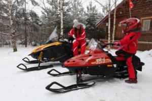 TIKSY 250 ЛЮКС снегоход