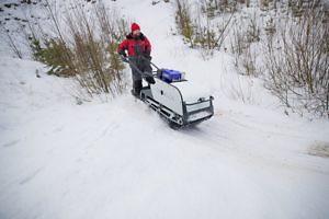 Мотобуксировщик Snowdog-Yamaha Y13MER