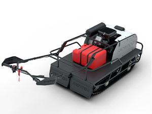 Мотобуксировщик Snowdog Twin Track V627