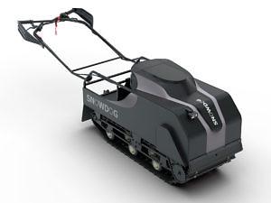 Мотобуксировщик Snowdog B420 Utility (реверс)